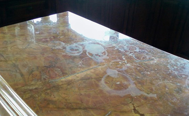 Marble Etch Marks